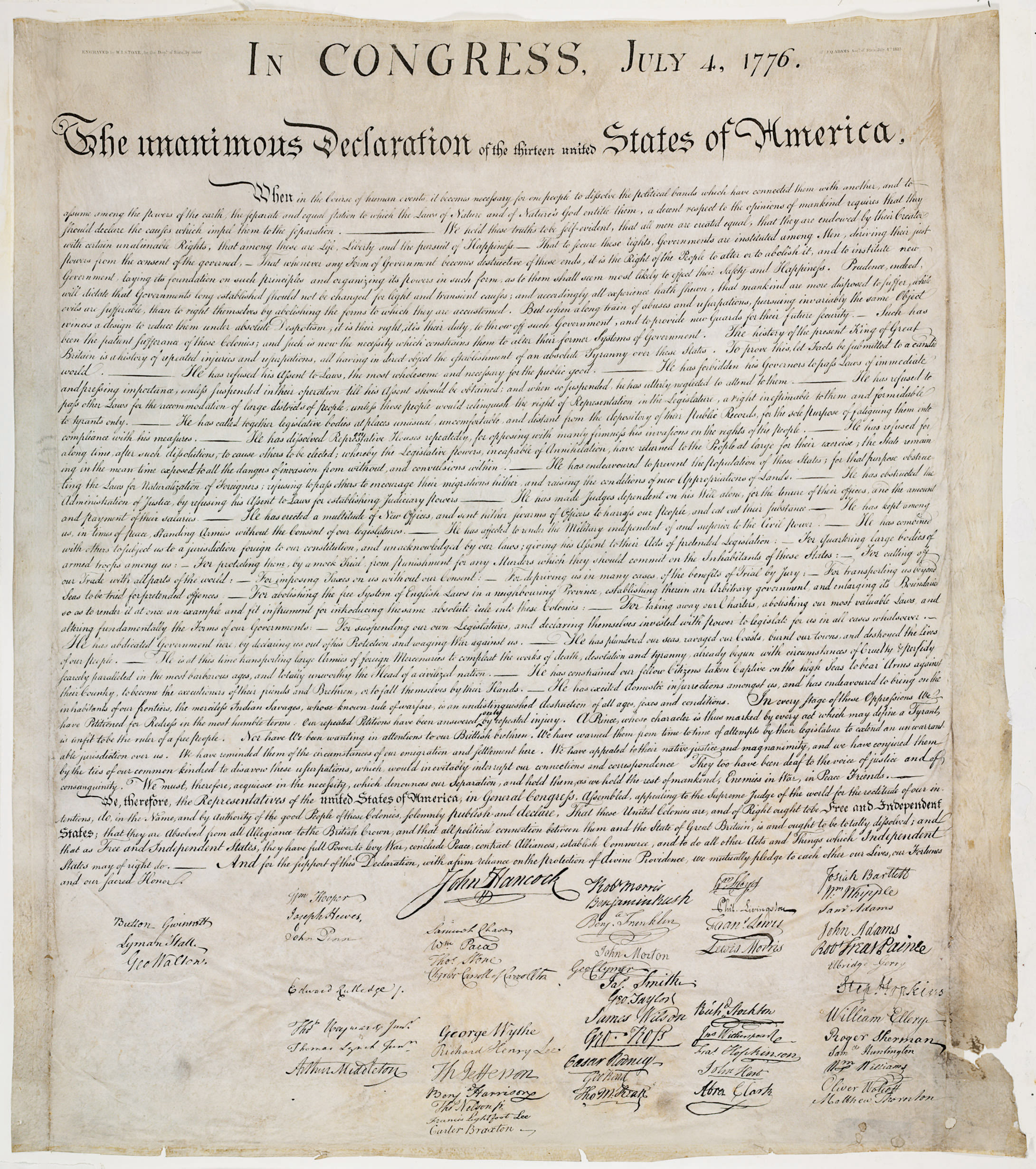 [DECLARATION OF INDEPENDENCE].